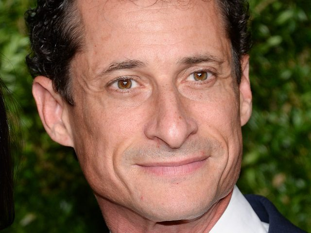 Anthony Weiner attends the 12th Annual CFDA/Vogue Fashion Fund Awards at Spring Studios on Monday, Nov. 2, 2015, in New York. (Photo by Evan Agostini/Invision/AP)