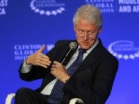 In this May 6, 2015, photo, former U.S President Bill Clinton speaks during a plenary session at the Clinton Global Initiative Middle East & Africa meeting in Marrakech, Morocco.