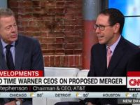 AT&T CEO Vows 'Independence' for CNN in Merger With Time Warner