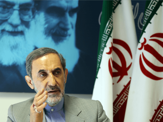 Iranian advisor to the supreme leader Ayatollah Ali Khamenei and hopeful conservative presidential candidate, Ali Akbar Velayati, speaks to the interview with AFP in Tehran, on June 3, 2013. Iran's former foreign minister Velayati would 'cooperate' with France to resolve the conflict in Syria should he win the June 14 …