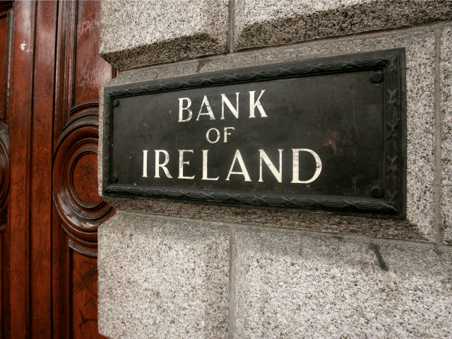 The Bank of Ireland in College Green, Dublin is pictured on February 28, 2009. Irish police have arrested seven people in connection with a 7,000,000 Euro (USD 8,8 millions) cash robbery, the biggest in the history of the Irish Republic, from the Bank of Ireland in College Green, Dublin on …