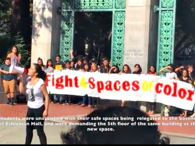 Berkeley Protest Heat Street Video