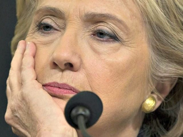 Clinton Bored Testifying Evan VucciAP