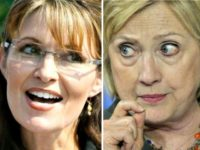 Clinton and Palin AP Photos