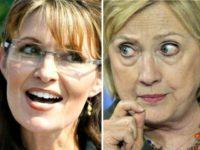 Clinton and Palin AP Photos
