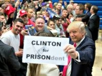 Clinton for Prison, Trump AP