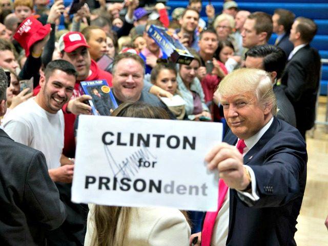 Clinton for Prison, Trump AP