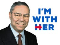He's With Her — Colin Powell Announces Support For Hillary Clinton