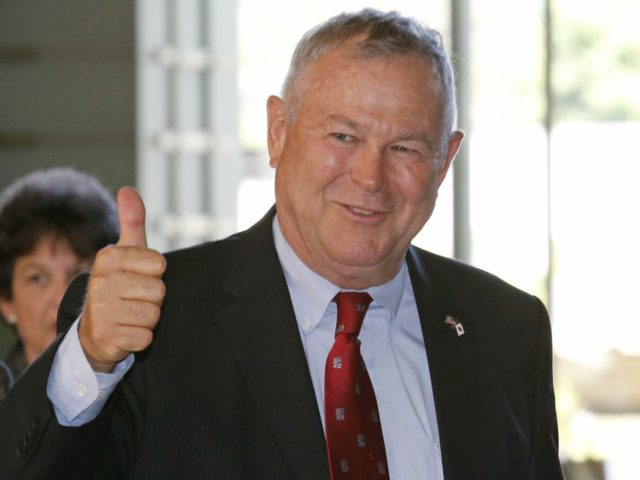 Dana Rohrabacher (Shuji Kajiyama / Associated Press)
