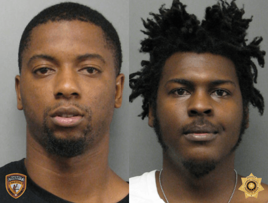 Justin Dew and Octivous Williams Mugshots (Harris County Sheriff's Office)