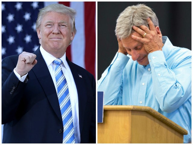 Donald-Trump-Gary-Johnson-Getty-AP