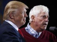 Donald Trump and Bobby Knight (Evan Vucci / Associated Press)