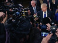 Donald-Trump-media-scrum-Detroit-March-3-2026-Getty