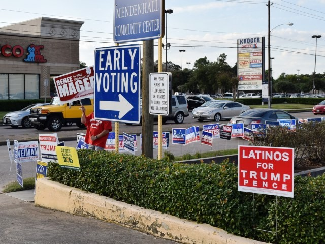 Texans Shatter Turnout Records in First Day of Voting