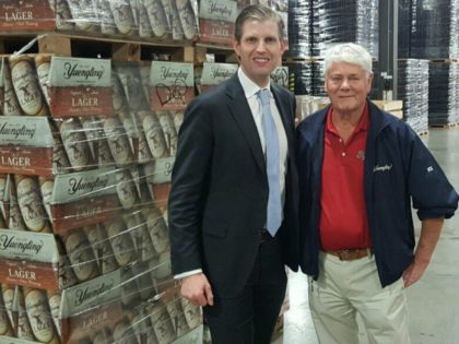 Yuengling Brewery to Eric Trump: 'Our Guys Are Behind Your Father'