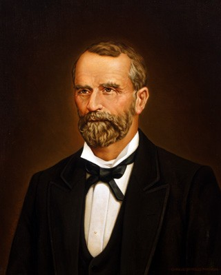 Fletcher Stockdale Portrait Courtesy Texas State Preservation Board.