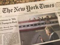 New York Times (Joel Pollak / Breitbart News)