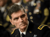 Army General Joseph Votel (R), commander of the US Special Operations Command, waits for a hearing of the Senate Armed Services Committee on March 8, 2016 in Washington, DC. The Senate Armed Services Committee hears testimony from the head of the US military effort against the Islamic State group in Iraq and Syria, as well as generals in charge of Africa and the Special Forces. / AFP / Brendan Smialowski (Photo credit should read BRENDAN SMIALOWSKI/AFP/Getty Images)