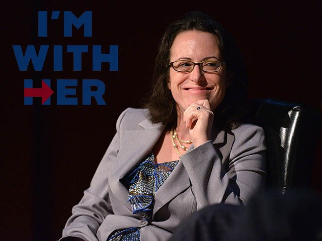 NEW YORK, NY - OCTOBER 18: Senior political writer at Politico Maggie Haberman speaks during the Free-For-All Media on the Camaign Trail Panel at New York Magazine's Election Issue event at the Morgan Library & Museum on October 18, 2012 in New York City. (Photo by Bryan Bedder/Getty Images for …