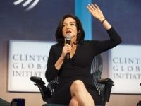 NEW YORK - SEPTEMBER 24: Sheryl Sandberg, COO of Facebook speaks during a panel discussion at the Clinton Global Initiative (CGI) meeting on September 24, 2013 in New York City. Timed to coincide with the United Nations General Assembly, CGI brings together heads of state, CEOs, philanthropists and others to …
