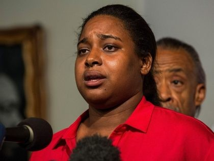 Wikileaks: Erica Garner Rips Clinton Campaign for Calculating How to 'Use' Father's Death