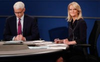 ST LOUIS, MO - OCTOBER 09: Moderator Anderson Cooper of CNN (L) and moderator Martha Raddatz of ABC appear during the town hall debate at Washington University on October 9, 2016 in St Louis, Missouri. This is the second of three presidential debates scheduled prior to the November 8th election. …