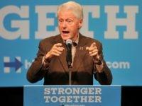 President Bill Clinton October 12, 2016 in Indianola, Iowa.