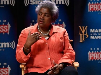DNC Chair Donna Brazile on October 17, 2016 in Washington, DC.