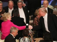 Wealthy New York Elite Boo Donald Trump at Al Smith Dinner