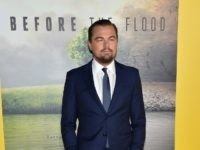Leonardo DiCaprio at the screening of Before the Flood, October 24, 2016 in Los Angeles, California.
