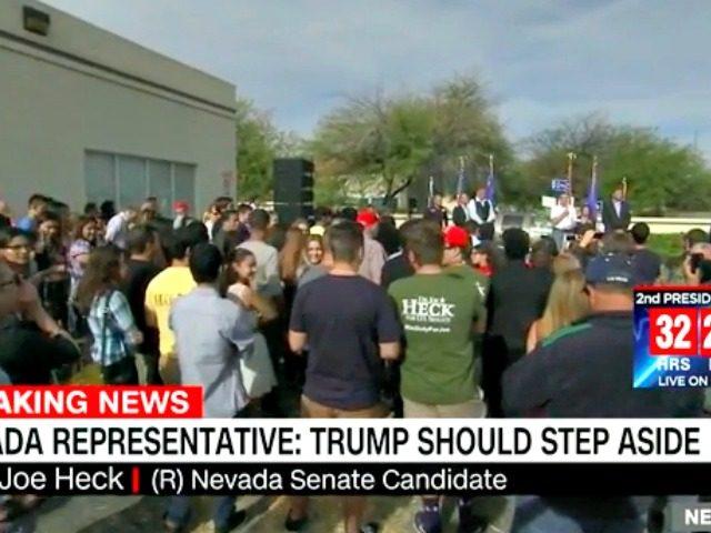 Heck Disavows Trump CNN