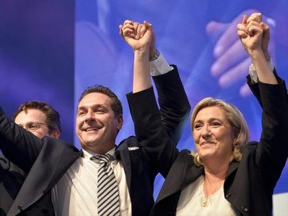 Heinz-Christian-Strache-Marine-Le-Pen-June-17-2016-European-Populists-Getty