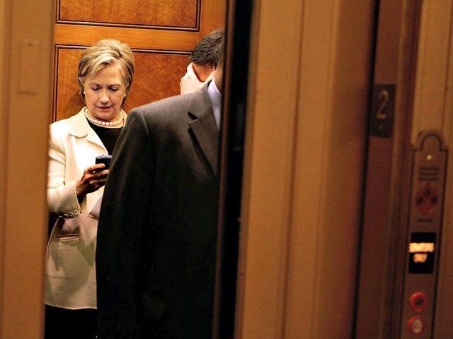 Hillary Blackberry Elevator Getty