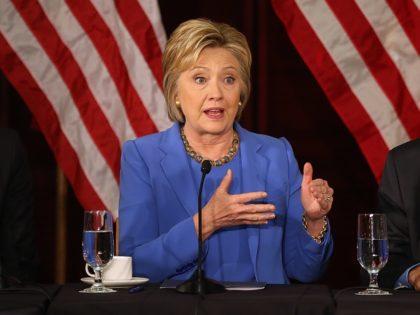 Hillary Clinton (Justin Sullivan / Getty)