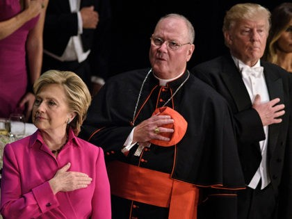 Hillary-Clinton-Cardinal-Dolan-Donald-Trump-Al-Smith-Dinner-NYC-Oct-20-Getty