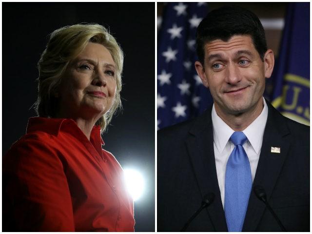 Hillary-Clinton-Paul-Ryan-Getty-Images