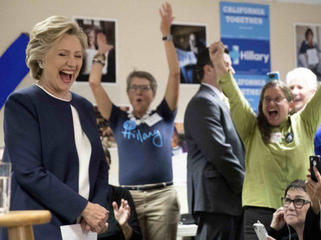 Hillary Clinton San Francisco (Andrew Harnik / Associated Press)