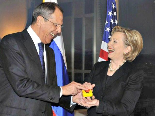 Hillary Lavrov Russian Reset Button AP