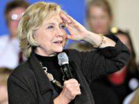 Hillary Salute AP