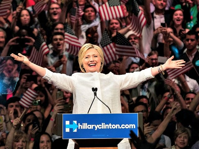 Hillary Wins with Superdelegates Drew AngererGetty