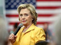 Hillary not happy