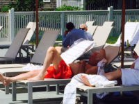 WikiLeaks: Clinton Team Leaked Creepshot of Bernie Sanders in His Swimming Suit