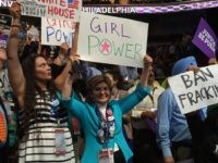 Gloria Allred at Democratic National Convention (Joel Pollak / Breitbart News)