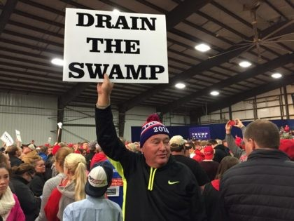 Drain the Swamp Donald Trump rally (Joel Pollak / Breitbart News)