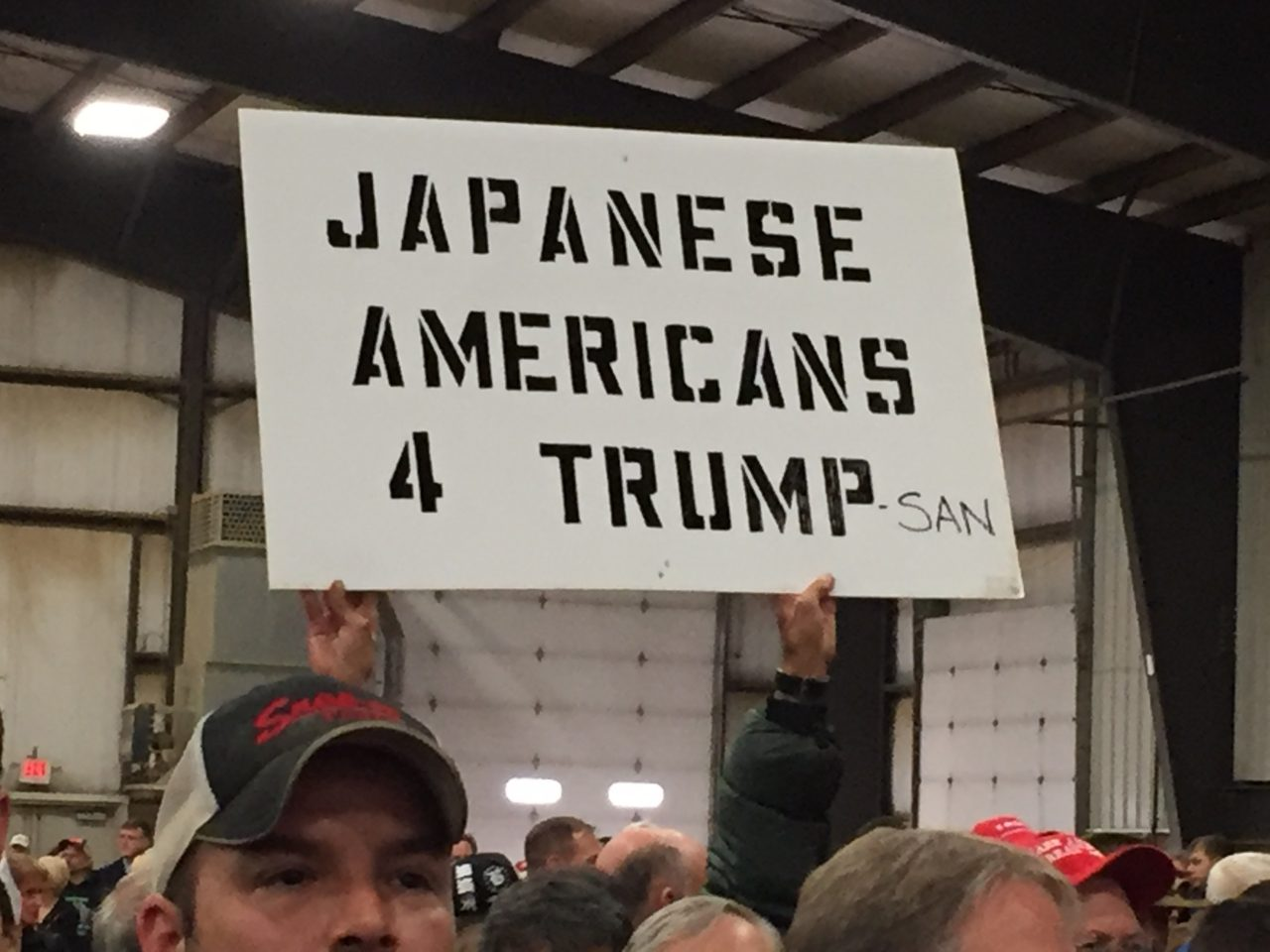 Japanese Americans for Trump (Joel Pollak / Breitbart News)