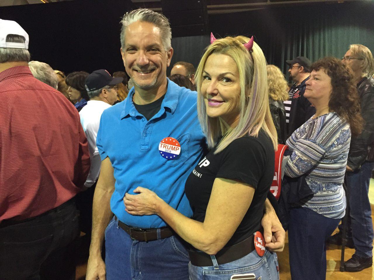 Donald Trump rally in NH (Joel Pollak / Breitbart News)