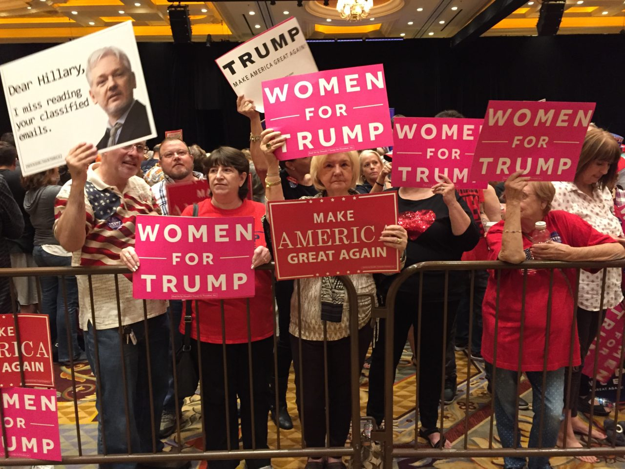 Women for Trump at Vegas rally (Joel Pollak / Breitbart News)