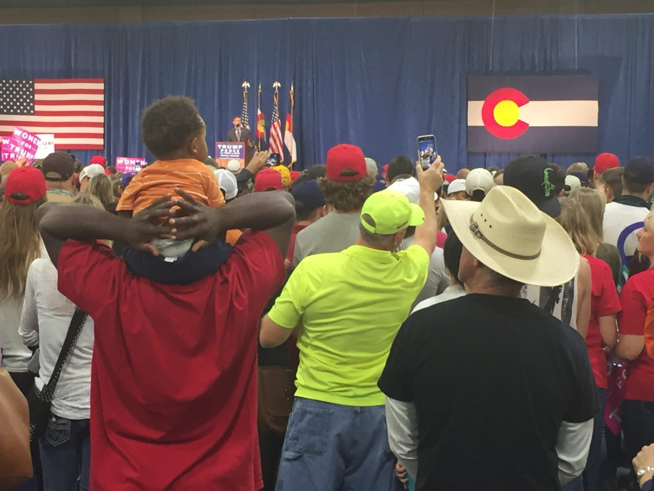 Donald Trump Colorado Rally in Greeley (Joel Pollak / Breitbart News)