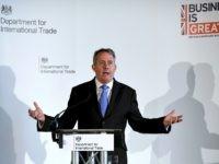 International Trade Secretary Liam Fox Visits Manchester