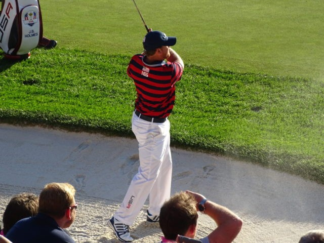 J.B. Holmes at Ryder Cup 2016